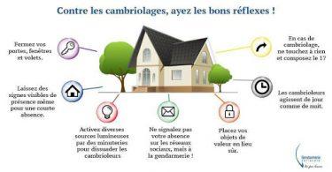 COMMENT PRÉVENIR LE CAMBRIOLAGE CONSEILS DE SÉCURITÉ
