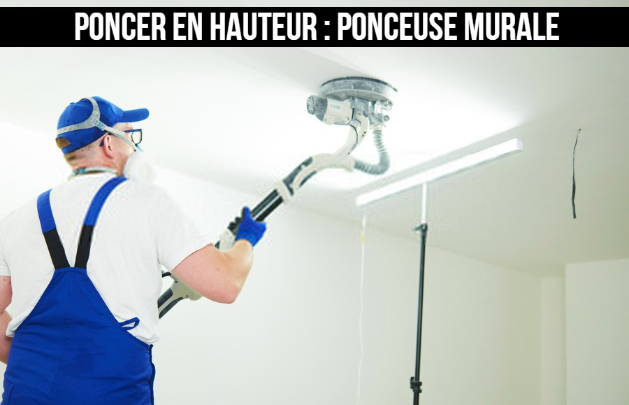 Ponceuse murale